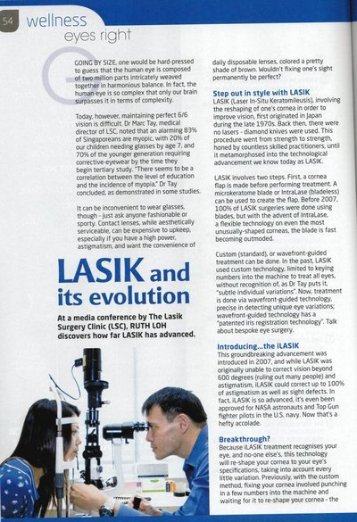 LASIK and its evolution